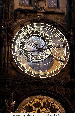 World Clock In Prague