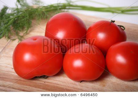 Juicy tomatoes