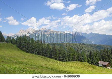 Dolomites Near Canazei