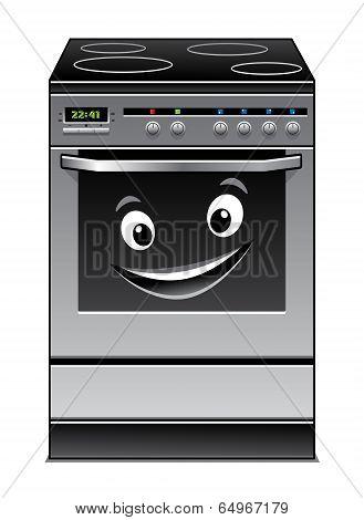 Fun modern stove kitchen appliance