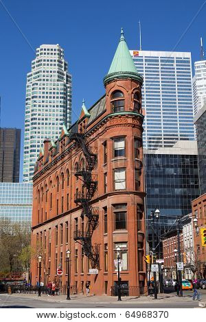 Flatiron (gooderham)  Building In Toronto