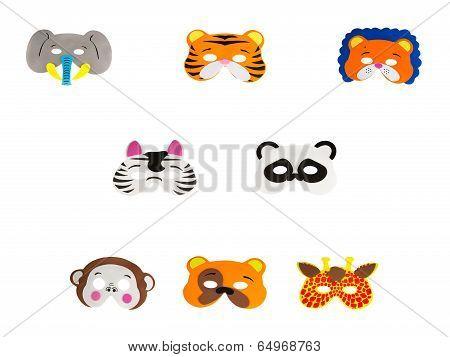 Zoo Animal Masks