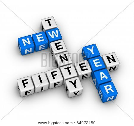 twenty fifteen new year crossword puzzle