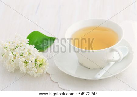White Lilac And Tea