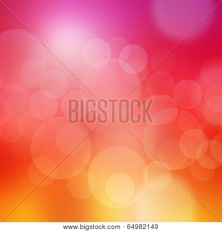 Abstract Background Bokeh In Purple And Pink Tones