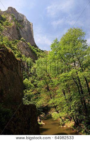 Turzii Gorges in Transylvania, Romania, Europe