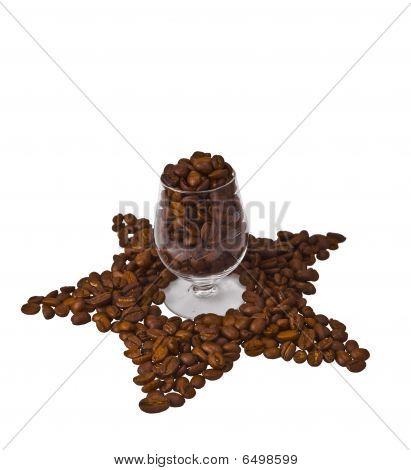 Coffee Star Glass