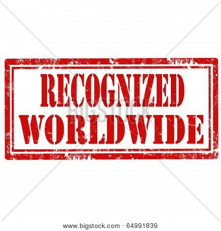 Recognized Worldwide-stamp