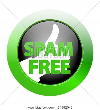 Spam Free Zone Icon