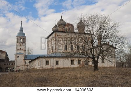 Old Russian Orthodox monastery