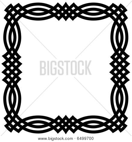 Celtic Knot Border Frame