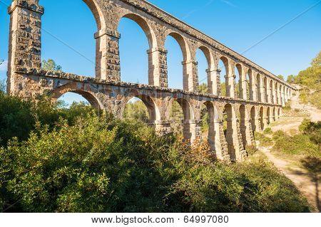 Devil Bridge In Tarragona, Spain
