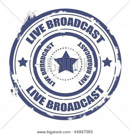 Live Broadcast Stamp