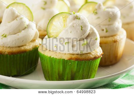 Homemade Margarita Cupcakes With Frosting