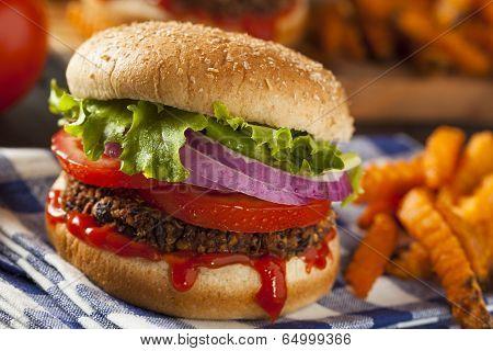 Homemade Healthy Vegetarian Quinoa Burger