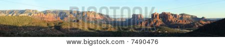 Sedona Panoramic Landscape