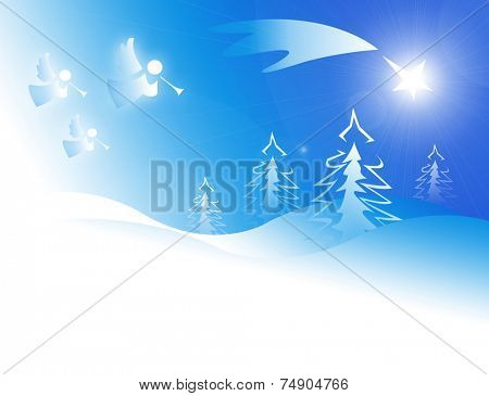 Star of Bethlehem. Good news.
