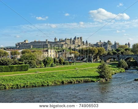 Carcassonne Fortified Town , France