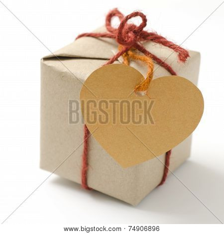Heart Tag With Gift Box