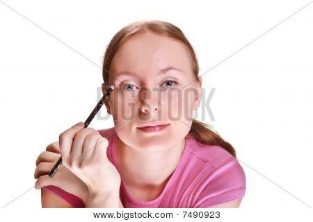 She Paints Eye