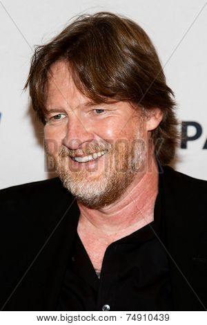 NEW YORK-OCT 18: Actor Donal Logue attends the 2nd Annual Paleyfest New York Presents: 'Gotham' at Paley Center for Media on October 18, 2014 in New York City.