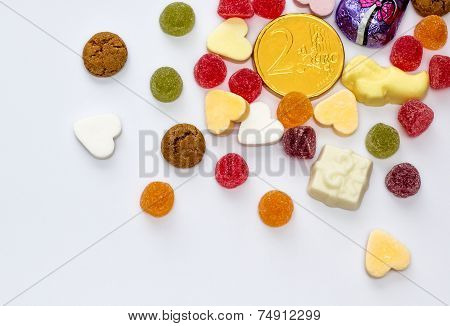 Assorted Holiday Candy For Sinterklaas