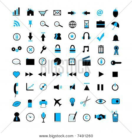 Web and Business Icons