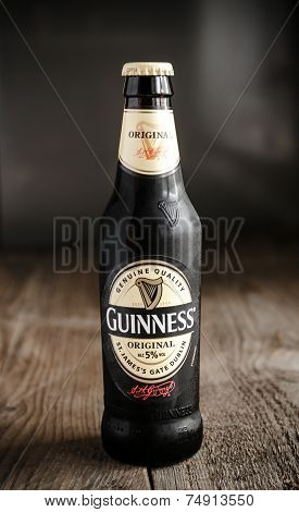 Bottle With Guinness Beer