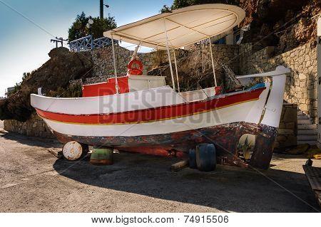 Typical Greek Fishing Boat