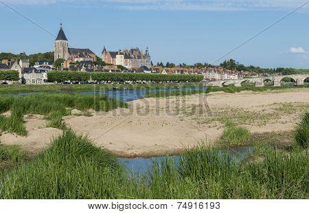 Loire at Pouilly Lez Gien