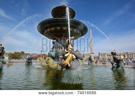 Fountain of River Commerce and Navigation