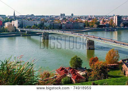 Cityscape In Novi Sad, Serbia