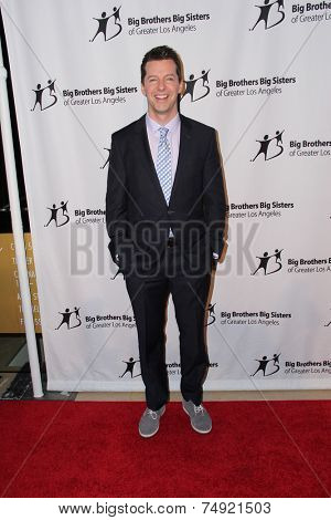 LOS ANGELES - OCT 24:  Sean Hayes at the Big Brothers Big Sisters Big Bash at the Beverly Hilton Hotel on October 24, 2014 in Beverly Hills, CA