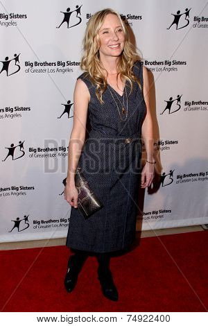 LOS ANGELES - OCT 24:  Anne Heche at the Big Brothers Big Sisters Big Bash at the Beverly Hilton Hotel on October 24, 2014 in Beverly Hills, CA