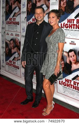 LOS ANGELES - OCT 27:  Jon Cryer, Lisa Joyner at the