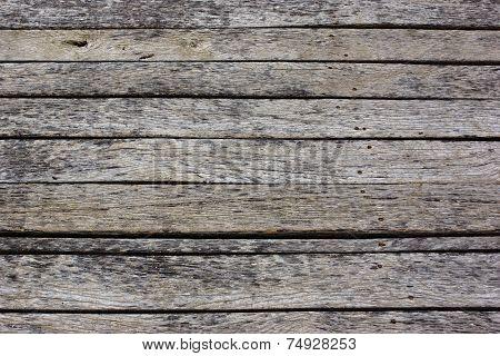 Old Wood Flat Plank Panel