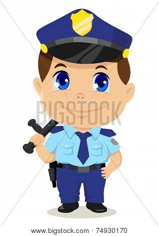 Chibi Policeman