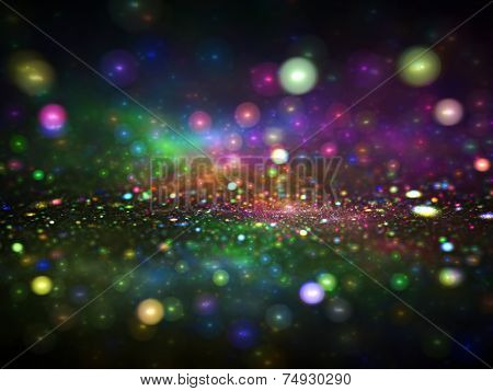 Abstract artistic conceptual fantasy digital background