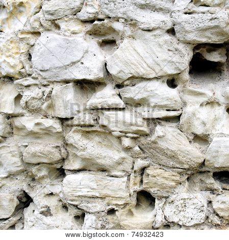 Weathered Limestone Rocks