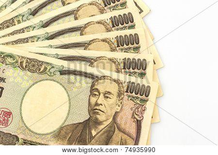 Japanese Yen Banknotes .