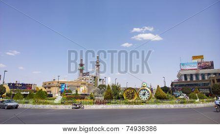 Street In Iran