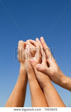 supportive hands