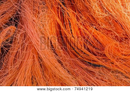Orange Fishing Nets