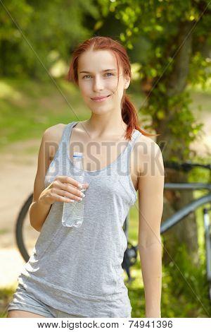 beautiful fit woman