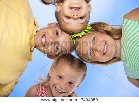 Children having fun together