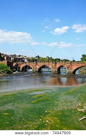 Old Dee Bridge, Chester.