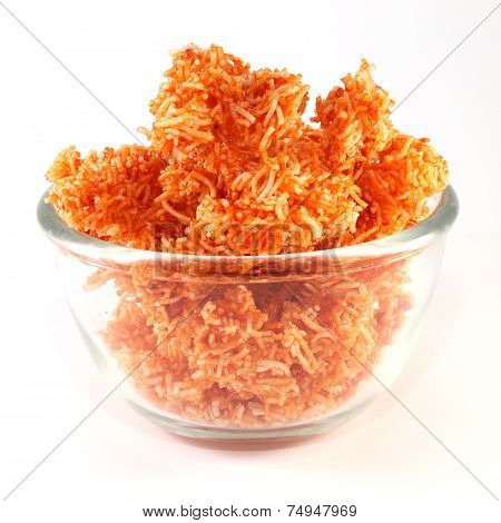 Red Sweet crispy noodles