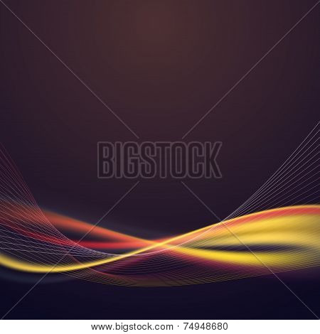 Bright Speed Lighting Lines Abstract Background