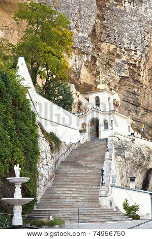 Church Of Saint Uspensky Cave Monastery, Crimea