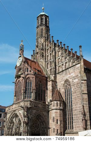 Church Of Our Lady In Nuremberg, Germany